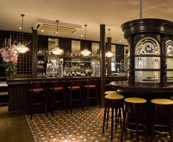 commercial bar interior project