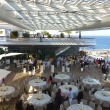 The top deck of the new Yacht Club de Monaco