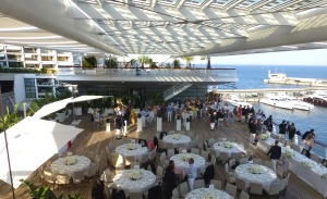 The Top Deck of The Monaco Yacht Club